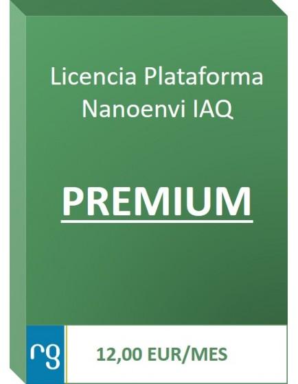 Plataforma Nanoenvi IAQ PREMIUM